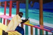 Karibische Strandbar